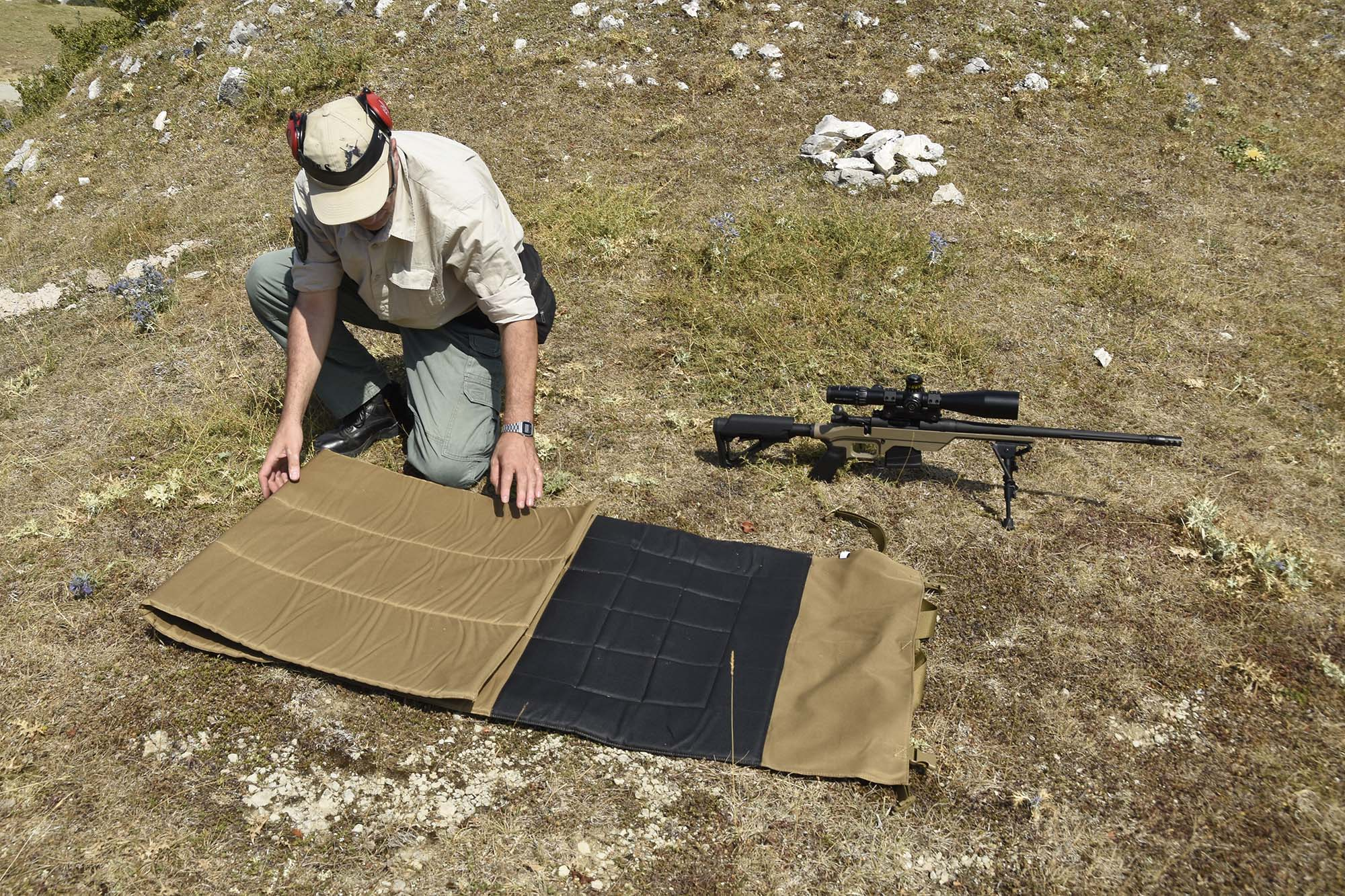 From Brownells The Bob Allen Tactical Shooting Mat The