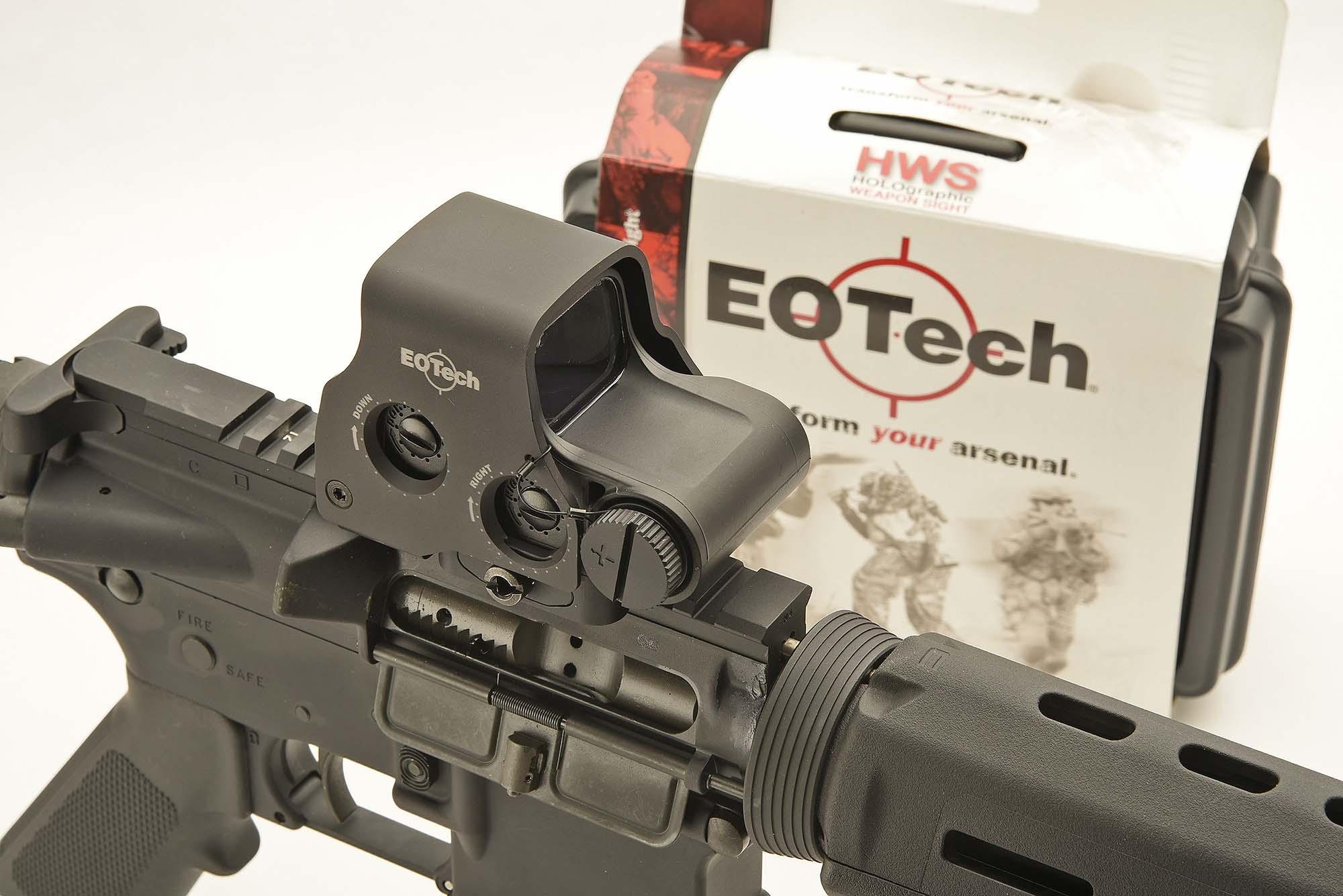 EOTech EXPS3 holographic sight | GUNSweek com