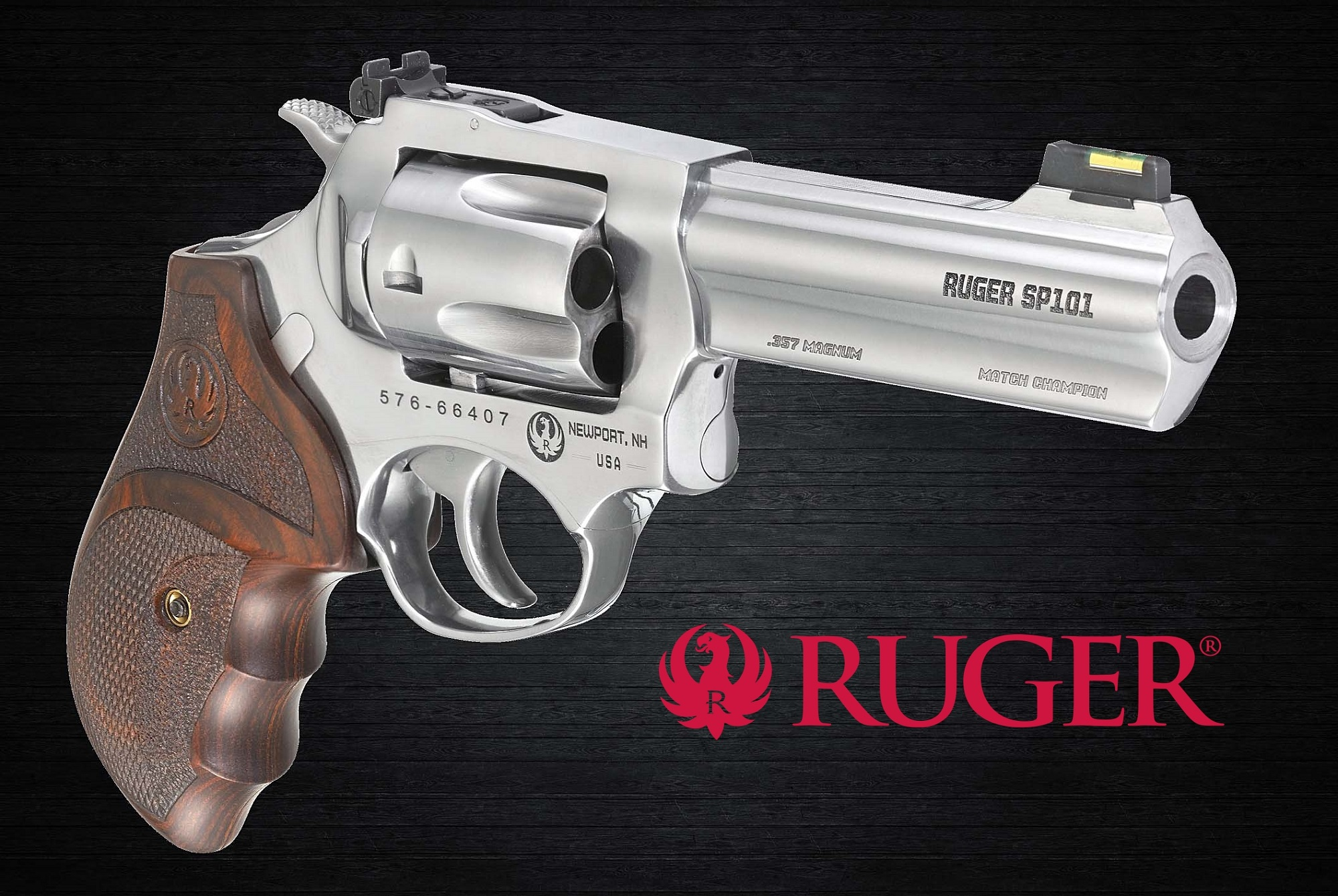 Ruger introduces the SP101 Match Champion double-action revolver