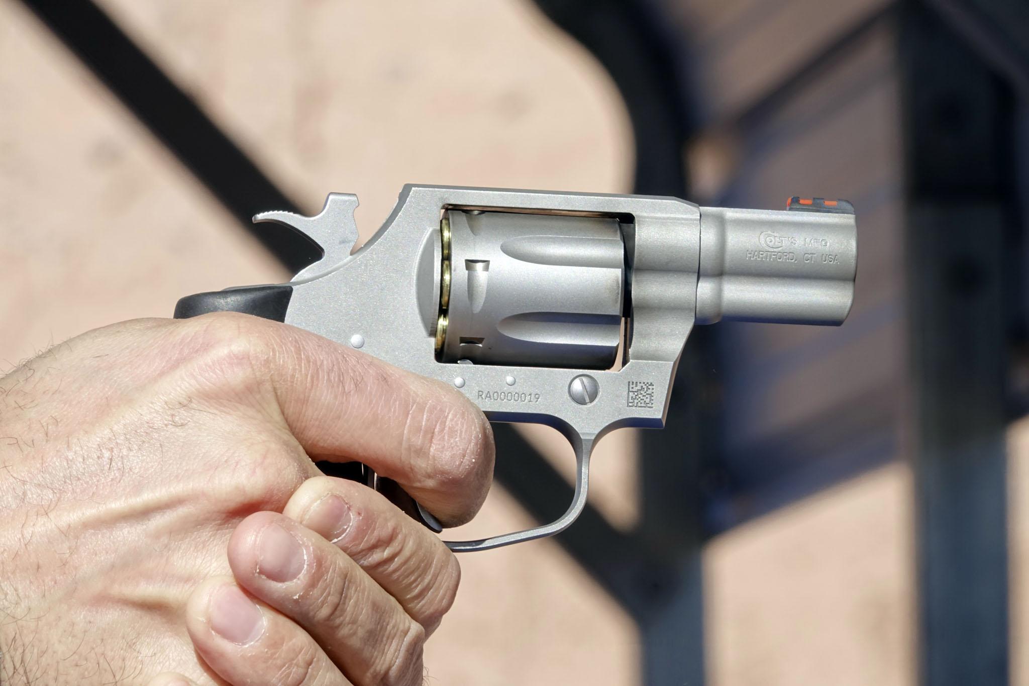 The new Colt Cobra revolver | GUNSweek.com