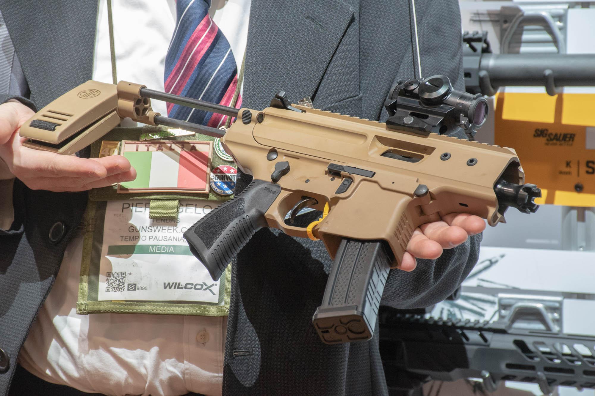SIG Sauer MPX Copperhead pistol   GUNSweek com