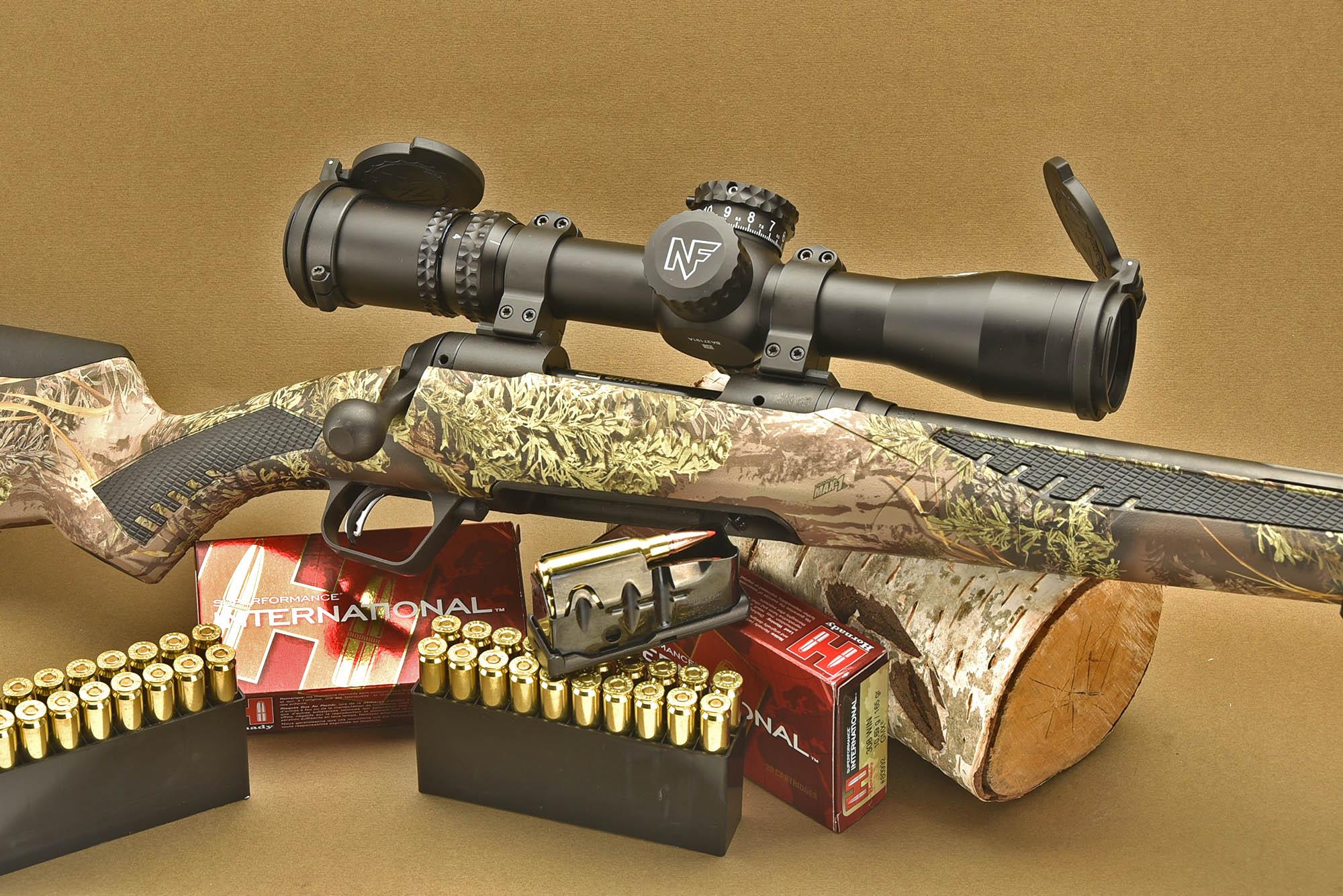 Savage Arms 110 Predator bolt-action hunting rifle | GUNSweek com