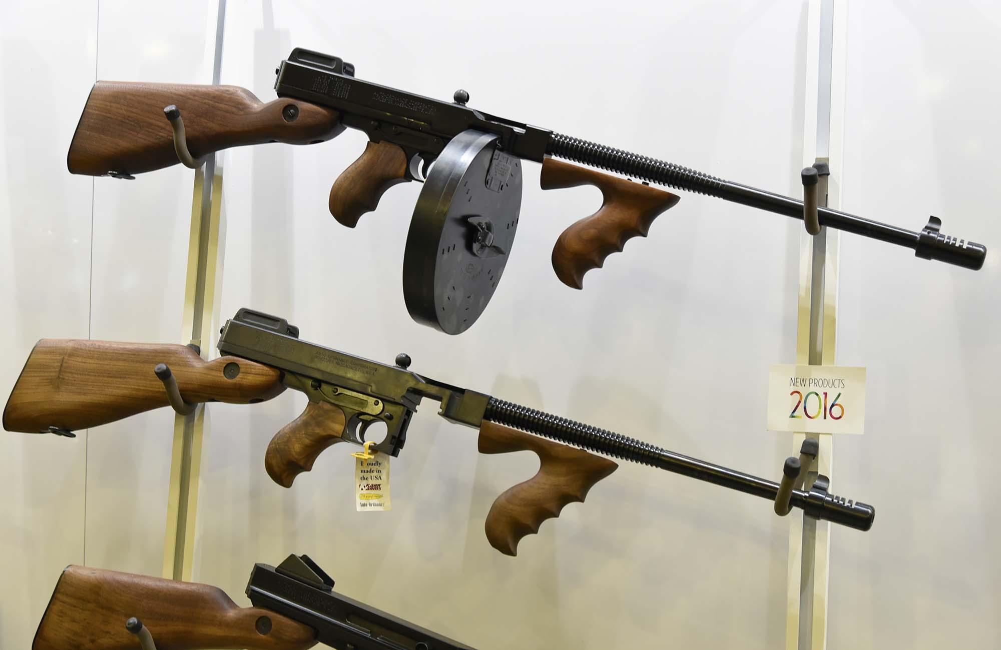Auto-Ordnance Thompson T1-14 Semi-Auto Carbine | GUNSweek com