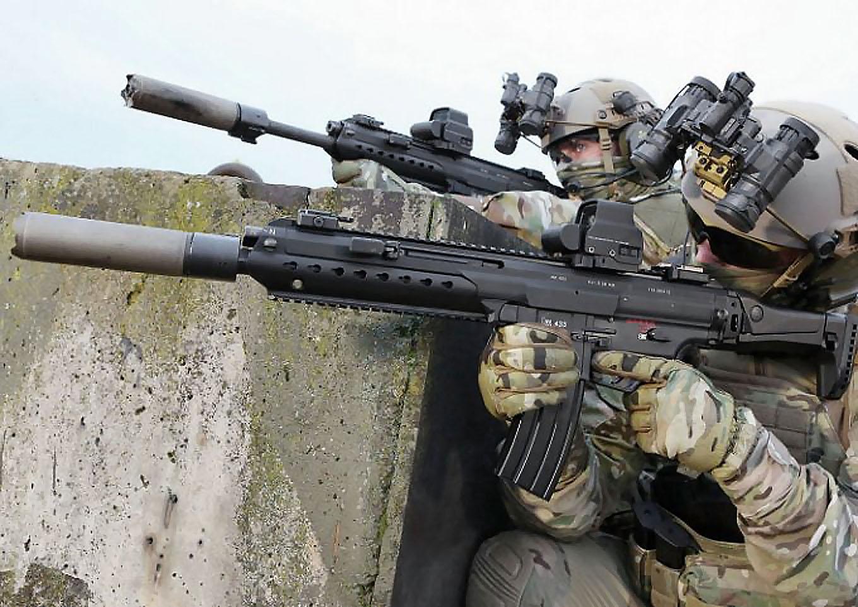 Heckler & Koch HK433: Bundeswehr's next assault rifle (?)   GUNSweek com