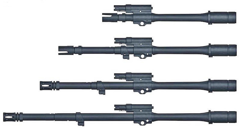 NUEVO FUSIL DE ASALTO HK433 CAL. 5.56 X 45MM Heckler_Koch_HK433_barrels
