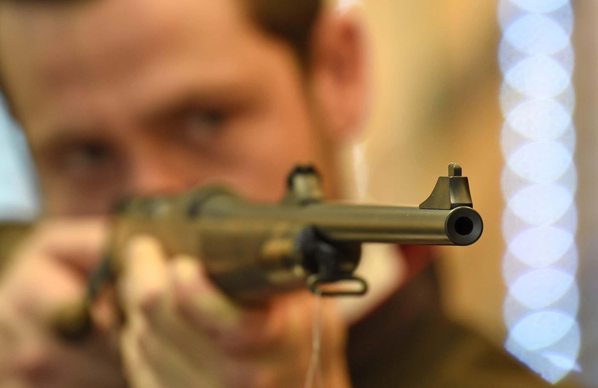 mauser m12 s manual cocking system rifle gunsweek com