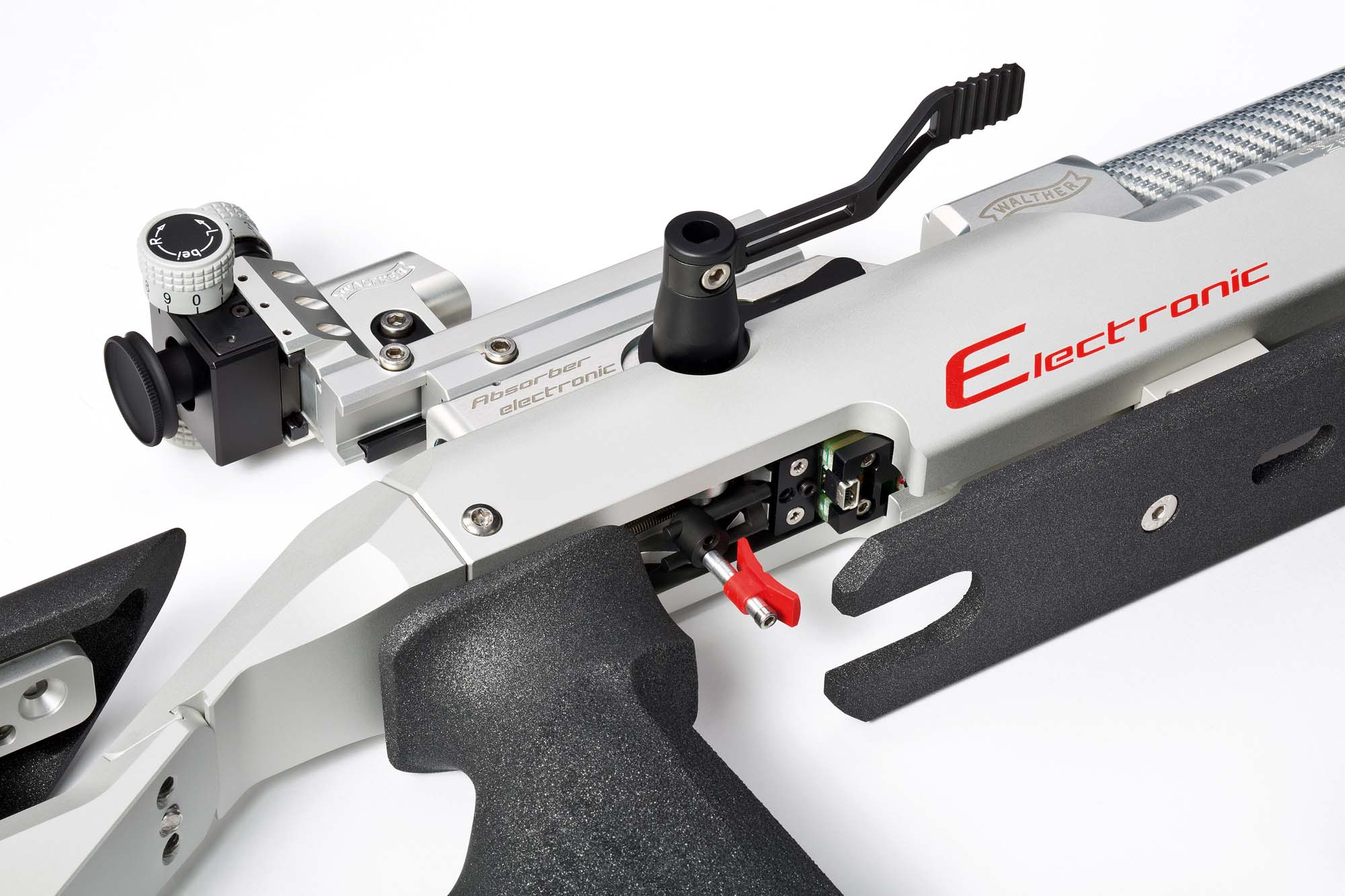 walther lg400 e electronic the future of airguns gunsweek com rh gunsweek com Walther AR Walther AR