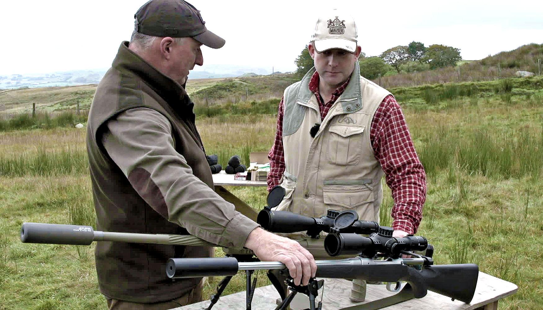 VIDEO: Mauser M12 Impact rifle in the field | GUNSweek com