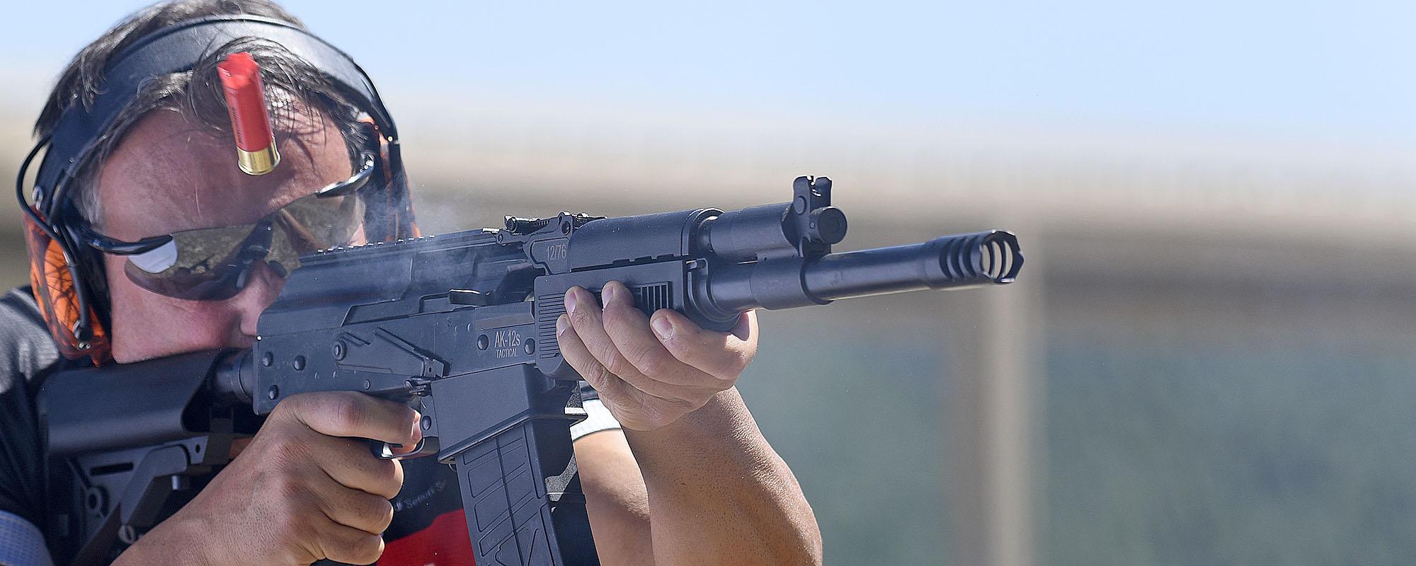VIDEO (promo): SDM AK-12s Tactical shotgun | GUNSweek.com