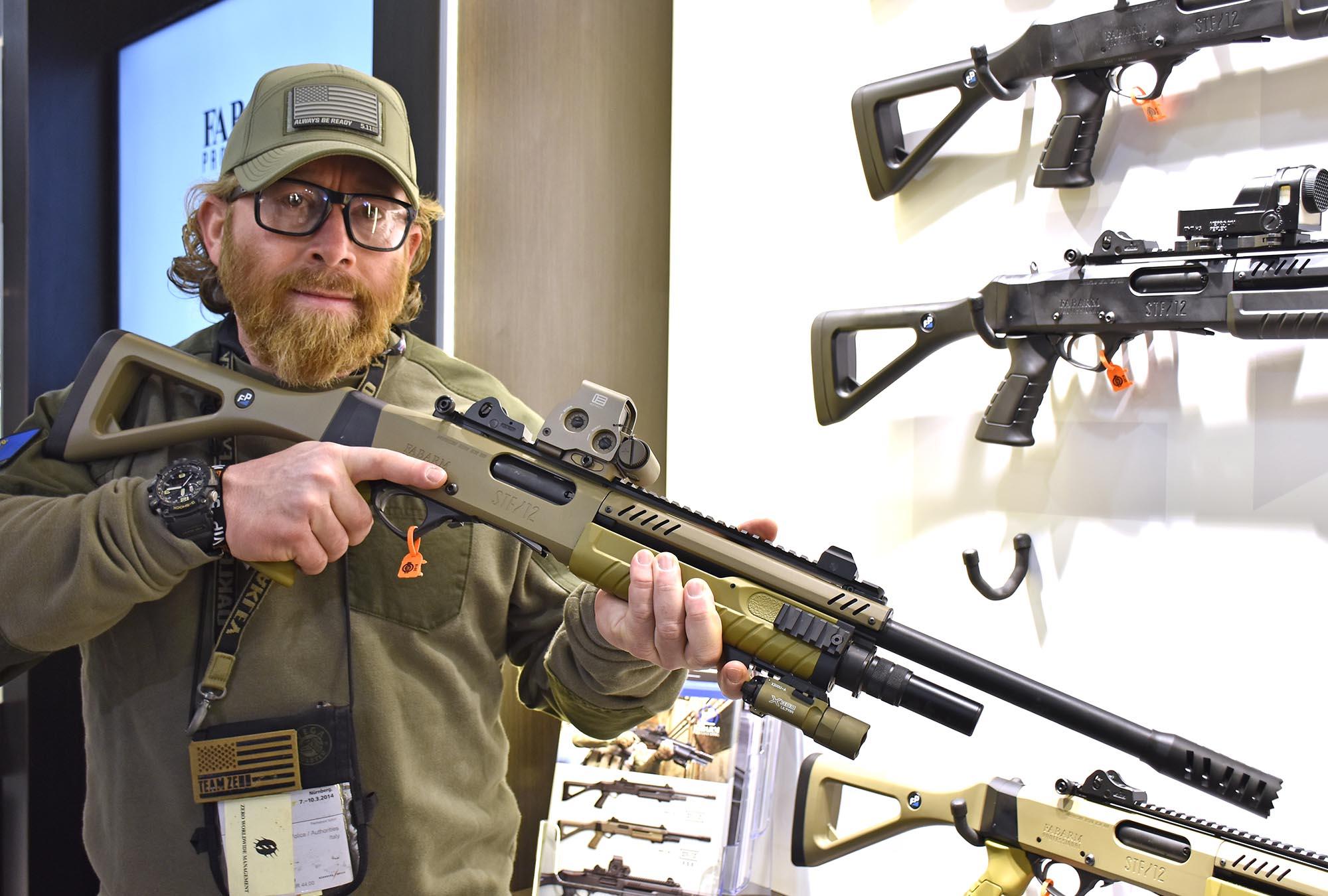 Fabarm STF 12 Tactical Shotguns GUNSweek Com