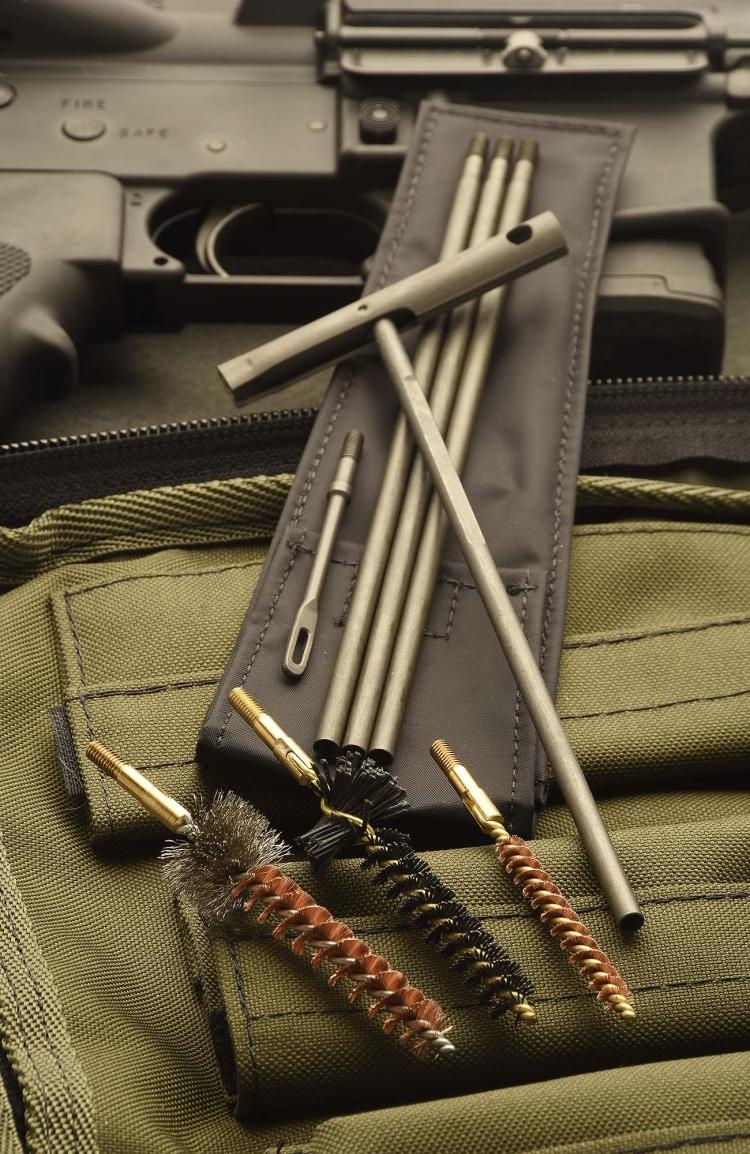 Dettaglio di uno dei molti accessori di qualità presenti nei kit Brownells