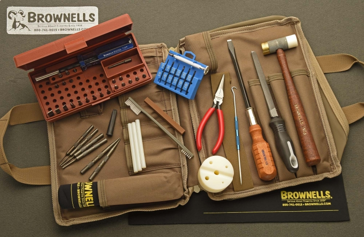 Il kit base, il Brownells Basic Field Tool Kit