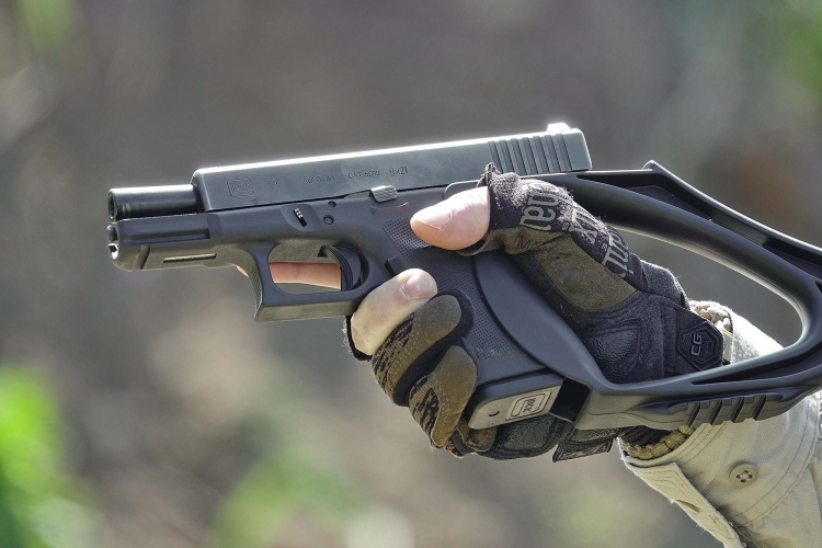 ArmBrace Type G1: an Easy-Go stock for the Glock! | GUNSweek com