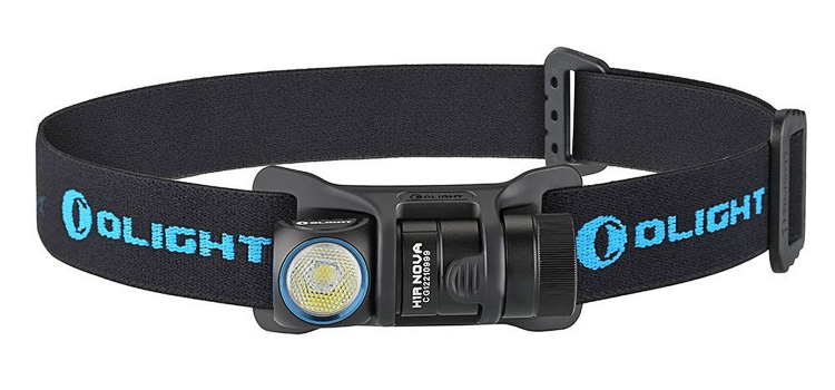 The issued headband and holder allow the use of the H1R Nova as a headlamp for outdoors, utility or rescue