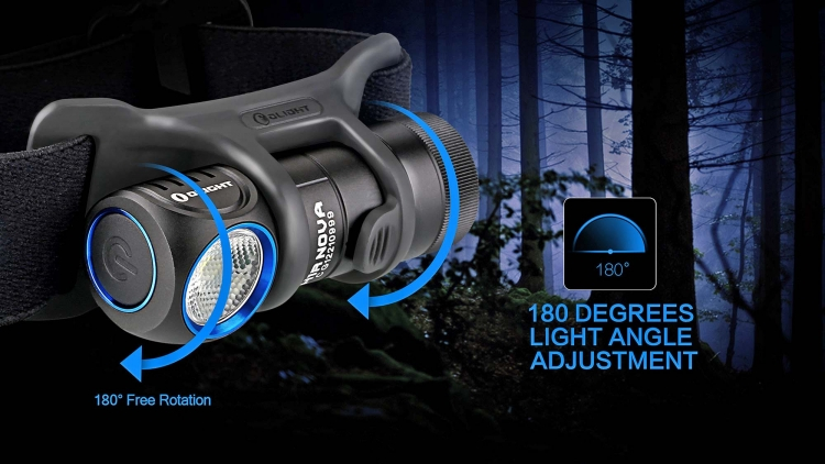 Olight's H1R Nova can be used for everyday carry, professional purposes, and outdoors