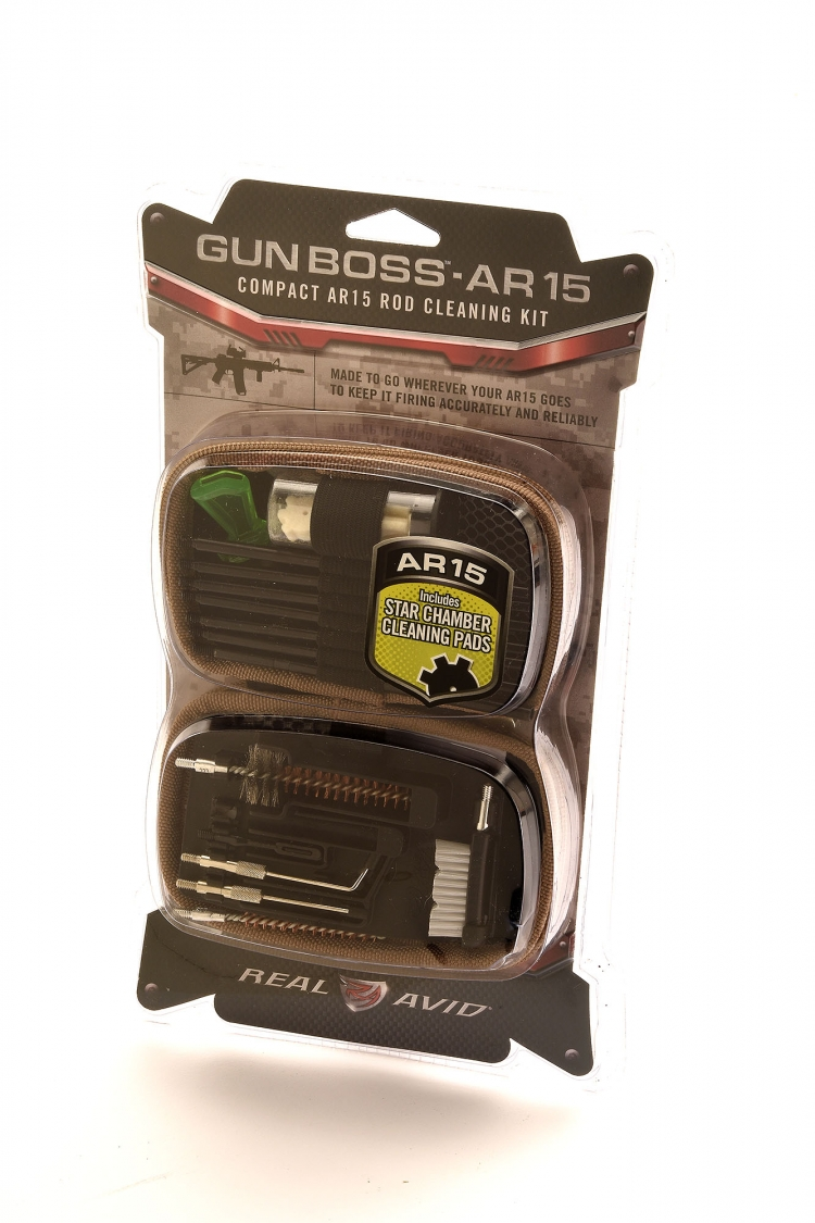 The Gun Boss AR-15 cleaning kit contains everything needed to preserve the accuracy and reliability of an AR-15