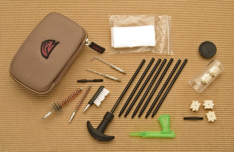 Everything you need, nothing you don't: that's the philosophy of the Gun Boss AR-15 cleaning kit