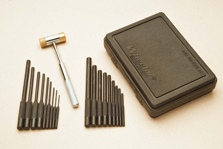Wheeler's new kit unites two of the company's best known pin punch sets in one