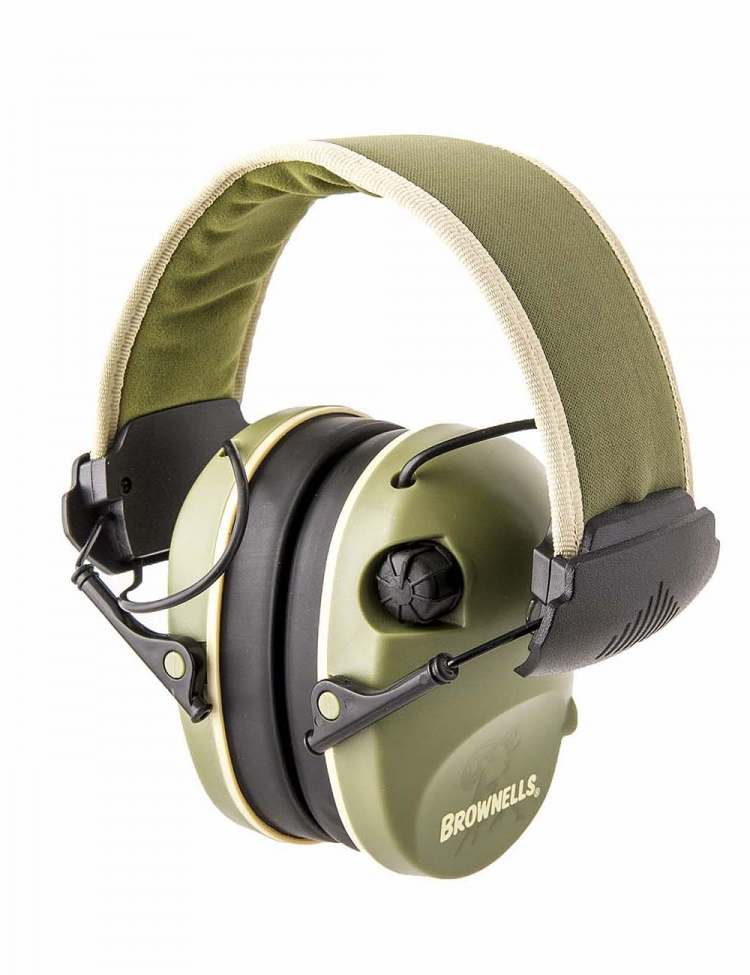 The Brownells Premium Electronic Earmuff