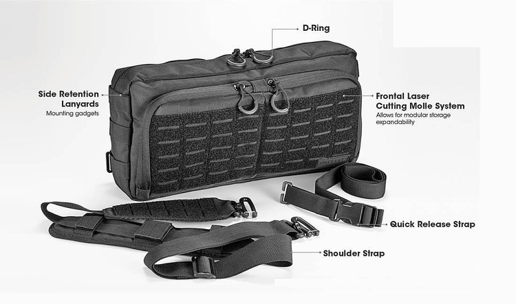 Nitecore NTC10, NEB10 and NEB20: the unexpected tactical bags