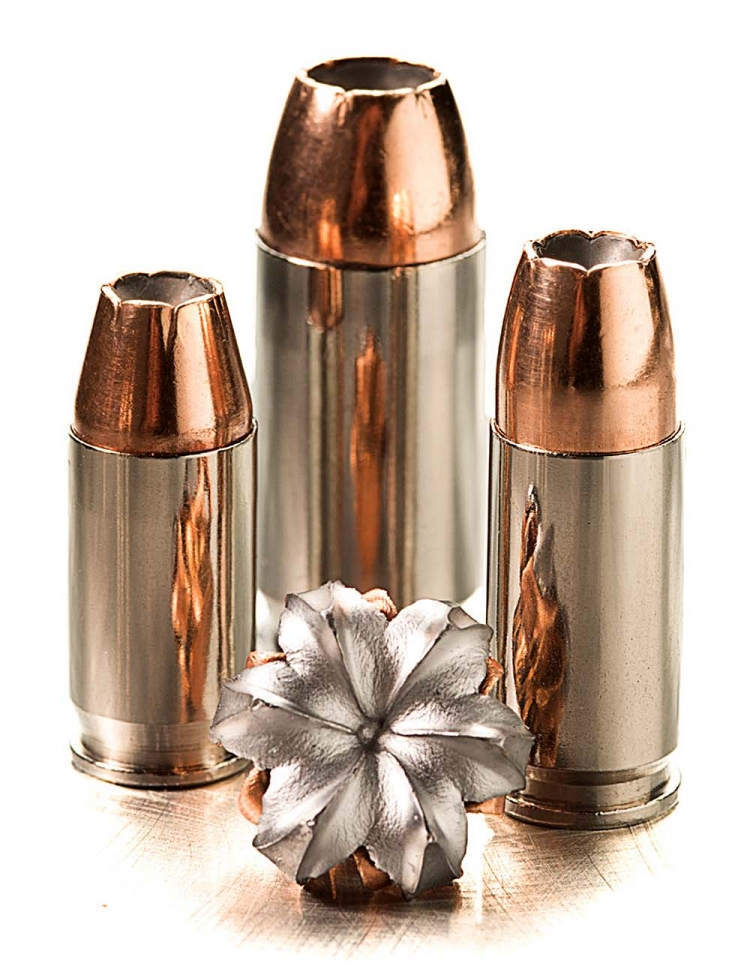 The SIG Sauer V-Crown hollow point bullet design