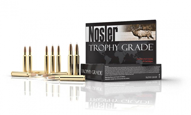 The new 30 Nosler cartridge is currently available in 2 commercial loads, with 180 gr or 210 gr Accubond bullets