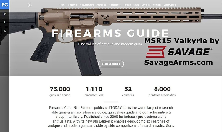 The 9th edition of the Firearms Guide is available as a 1-year subscription to the Internet-based database and as a combo with a 16gb USB edition allowing discerning researchers to have it always handy for quick reference. Includes ammo charts, downloadable blueprints and targets, cross-reference capabilities, a gun value chart, and more.