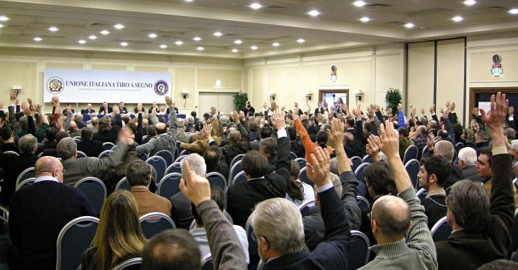 La dirigenza UITS è eletta dai Presidenti delle Sezioni del Tiro a Segno Nazionale