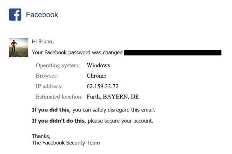 La segnalazione che abbiamo ricevuto da Facebook, grazie alla quale abbiamo presentato denuncia penale in Germania, presso la procura dello Staatsanwaltschaft Nürnberg-Fürth