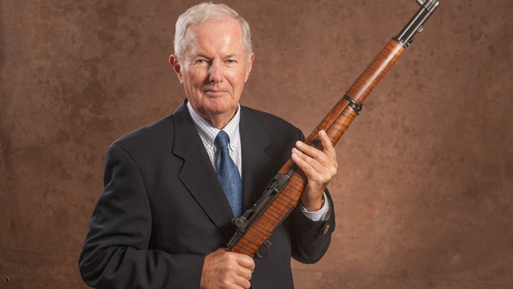 Pete Brownell succeed to Allan D. Cors, a life-long staunch supporter of gun rights