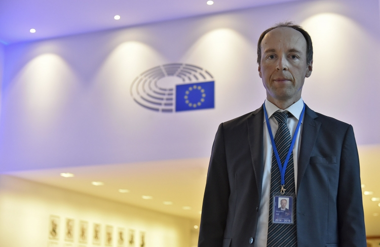 Representing the European Conservatives and Reformists Group, Jussi Halla-Aho was one of the MEPs who took part to the conference