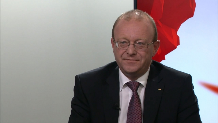 Pro-Tell vice-president Jean-Luc Addor spoke on behalf of Switzerland