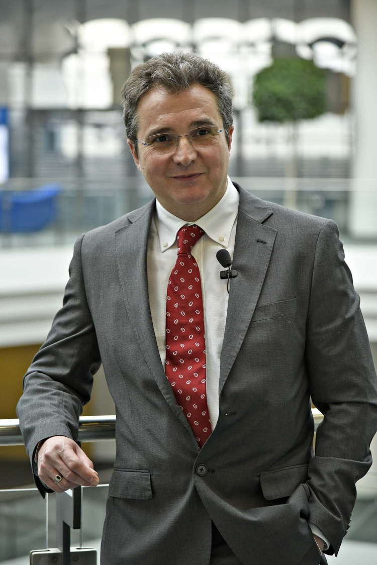 Andrea Luminati, esperto di marketing e comunicazione, ha guidato uno dei due interventi dedicati all'importanza dei Social Media per il settore armiero