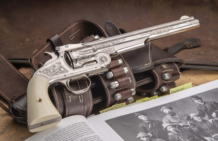 L'ultima nata fra le armi corte Uberti: la Smith & Wesson No. 3 American Second Model