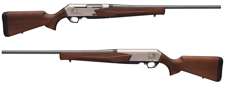 The new Browning BAR MK 3 semi-automatic hunting rifle