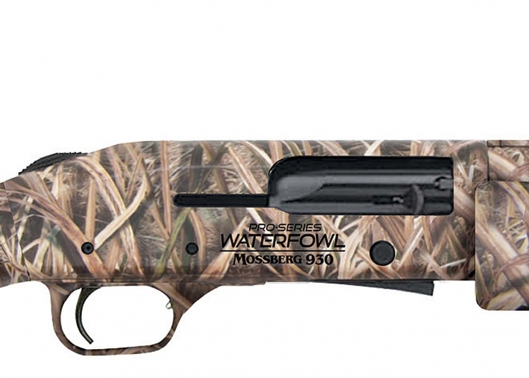 Both 930 and 935 Magnum Pro Series Waterfowl models feature an engraved receiver; Mossy Oak Shadowgrass Blades camo; fiber optic front sight; three choke tube set; and Stock Drop System that provides drop-at-comb adjustment shims for a customizable fit
