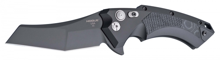With the X5, Hogue's engineers redefined the possibilities of button lock flipper knives
