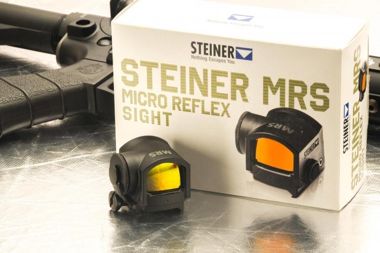 Steiner MRS Micro Reflex Sight: il punto rosso professionale