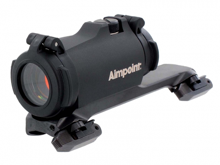 Aimpoint Micro H-2 red dot sight with dedicated mount for Sauer 404 rifles