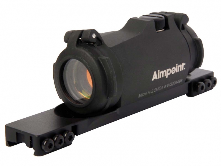 Aimpoint Micro H-2 red dot sight with dedicated mount for TIKKA T3 rifles