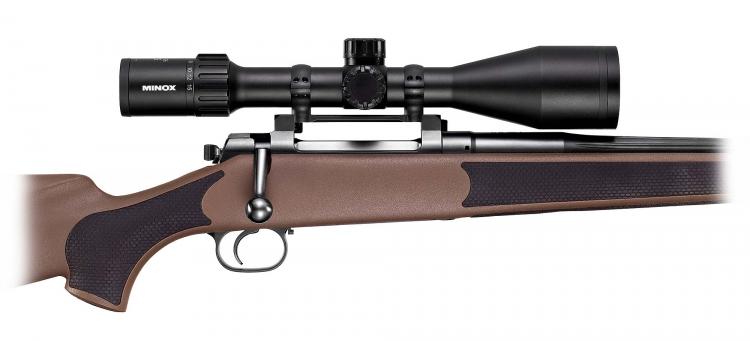 a Minox riflescope ZX5/ZX5i 3-15x56 SF