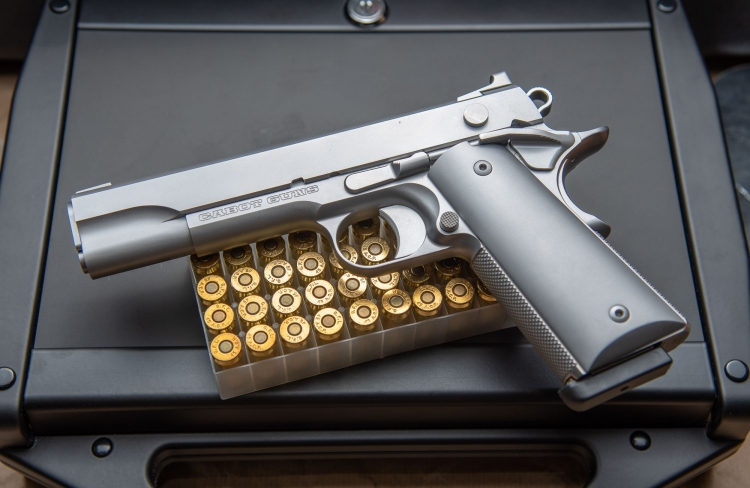 Cabot Guns 'The Icon', a minimalist masterpiece