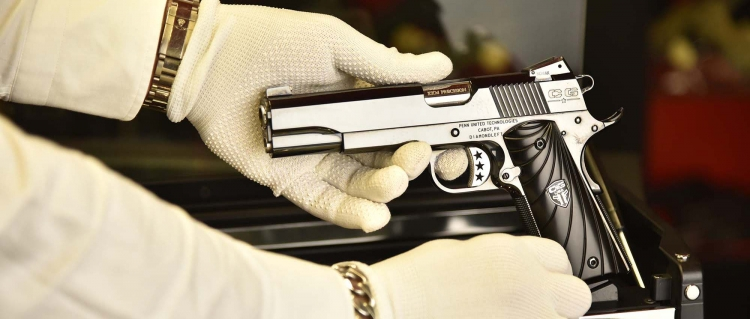 "The Mirror Image Pistols by Cabot Guns getting the ""White glove treatment""... and boy, do they deserve it!"