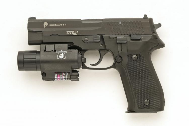 Lato sinistro della SDM XM9 Operator