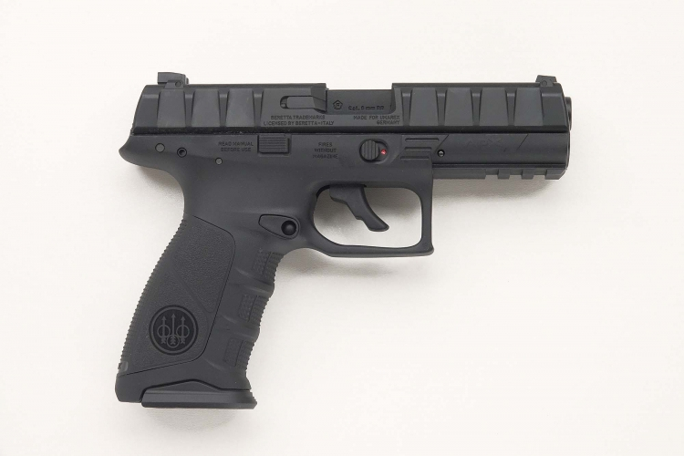 Right side of the pistol