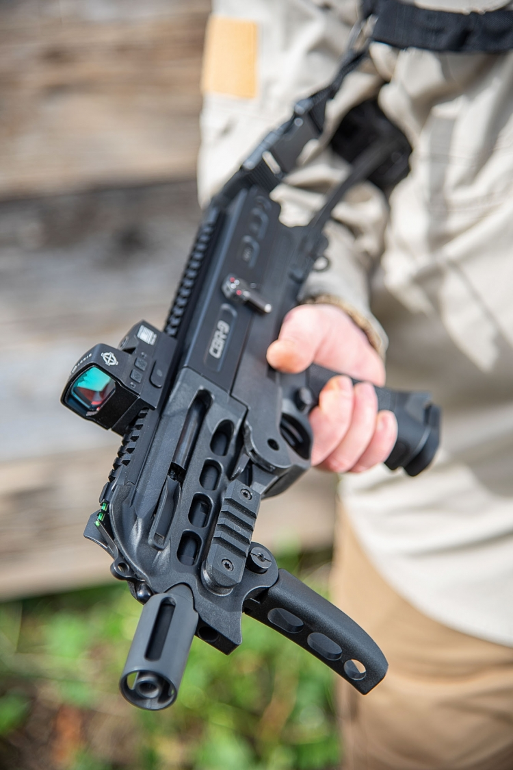 Chiappa Firearms CBR-9 Black Rhino, the new thing at IWA 2019