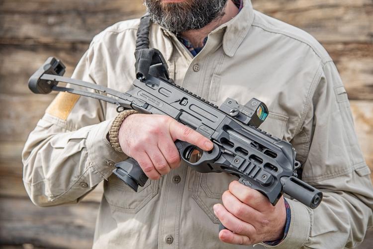 Chiappa Firearms CBR-9 Black Rhino 9mm pistol