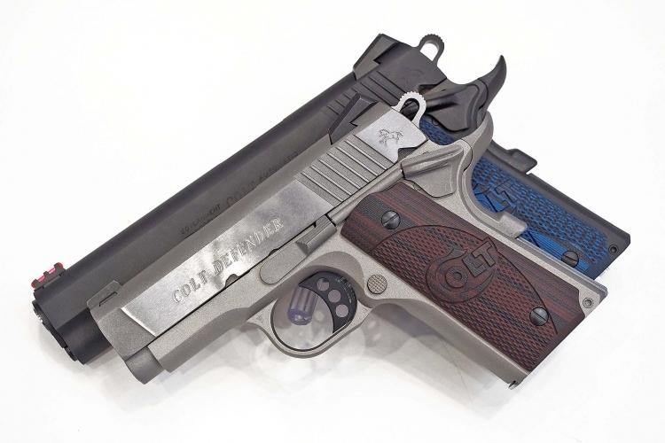The Colt Defender and Colt Competition pistols
