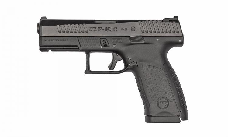 CZ P10C pistol, black finish