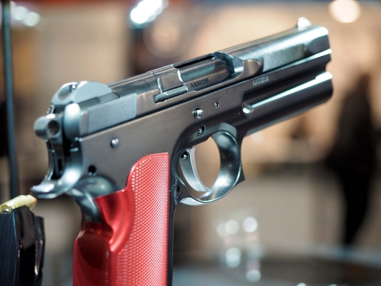 The FK Brno SS pistol is significantly shorter than the Combat Sport and Standard Field pistols